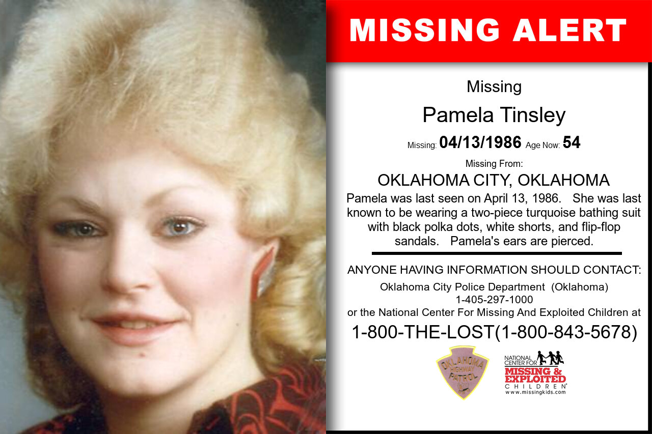 PAMELA_TINSLEY missing in Oklahoma
