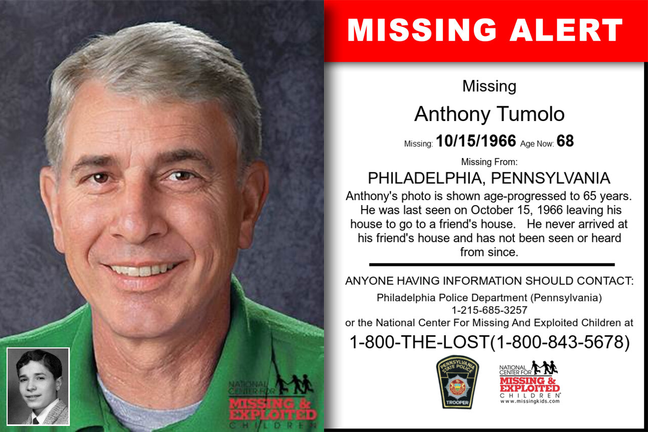ANTHONY_TUMOLO missing in Pennsylvania