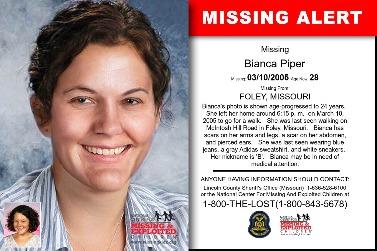 Bianca_Piper missing in Missouri