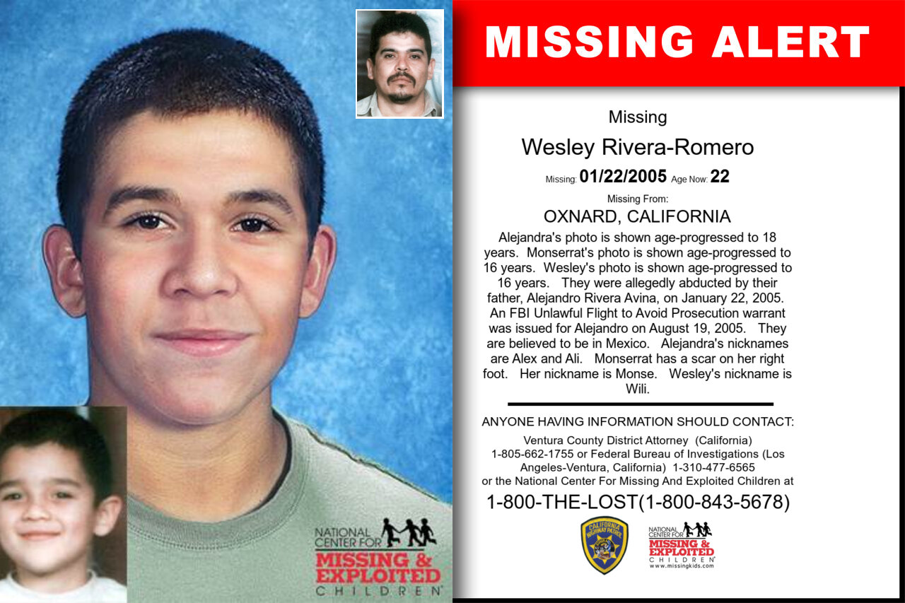Wesley_Rivera-Romero missing in California