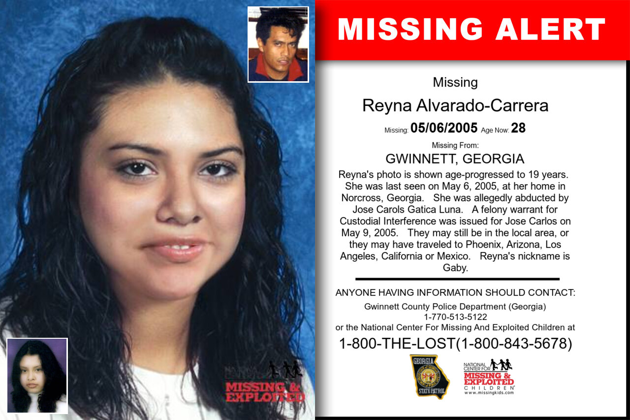 REYNA_ALVARADO-CARRERA missing in Georgia