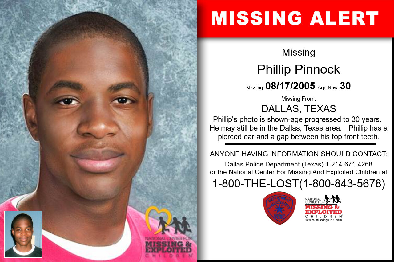 PHILLIP_PINNOCK missing in Texas