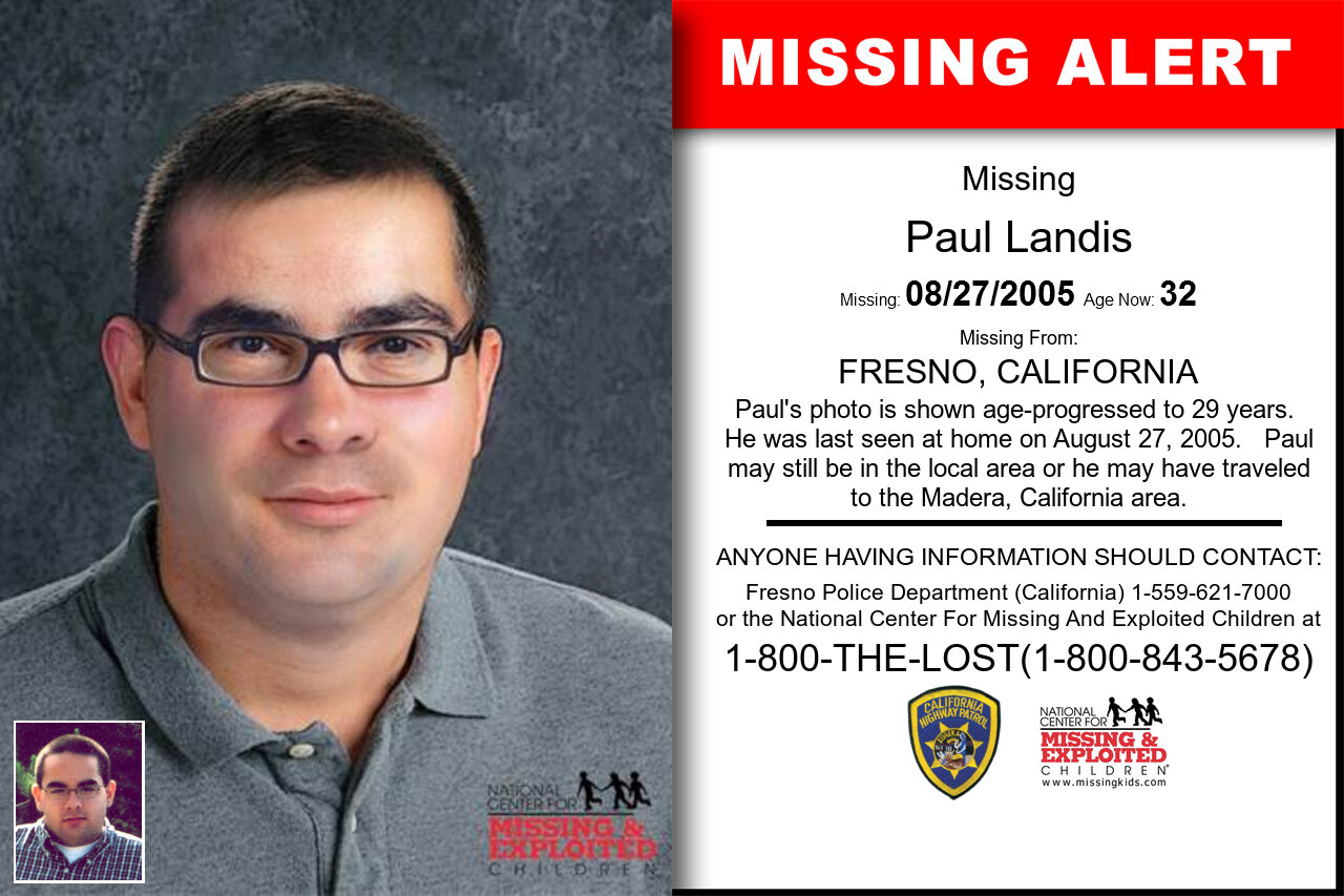 Paul_Landis missing in California