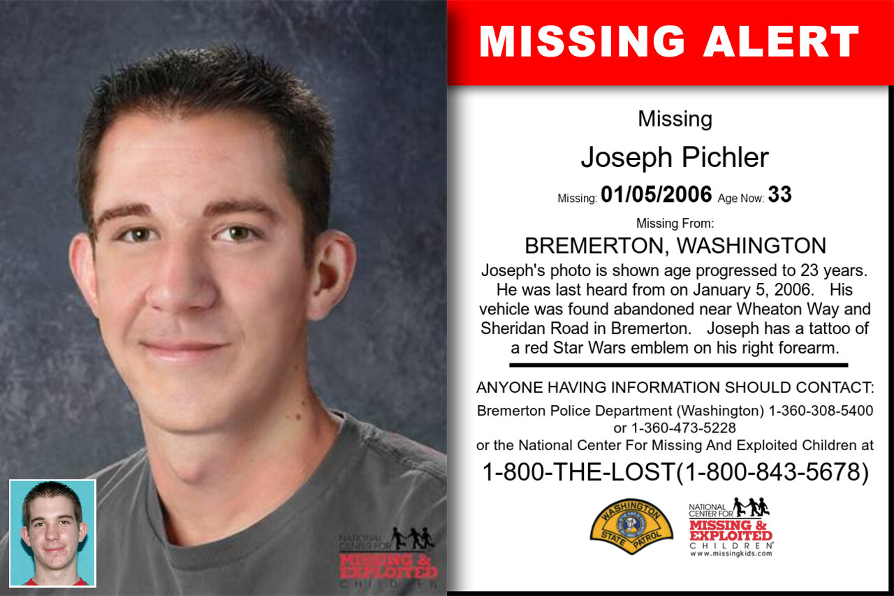 JOSEPH_PICHLER missing in Washington