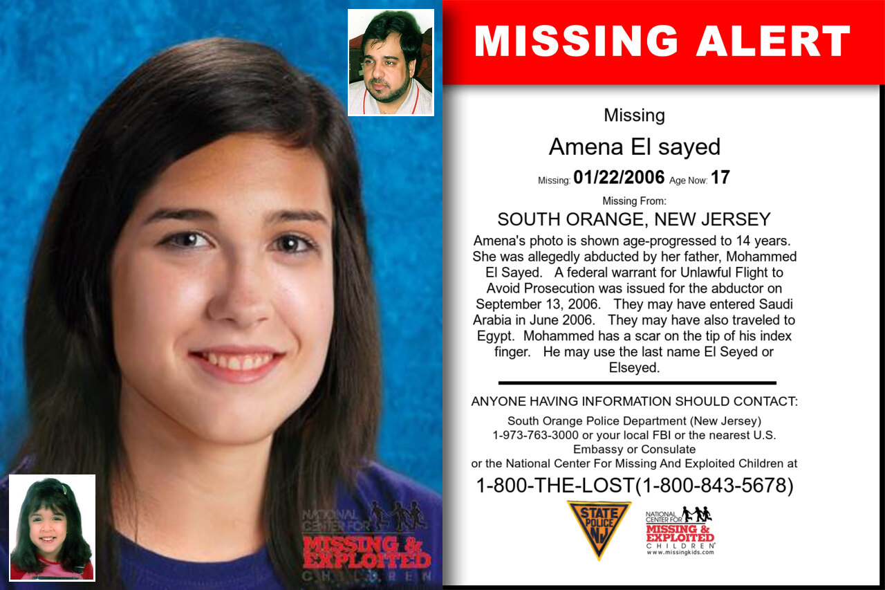 AMENA_EL_SAYED missing in New_Jersey