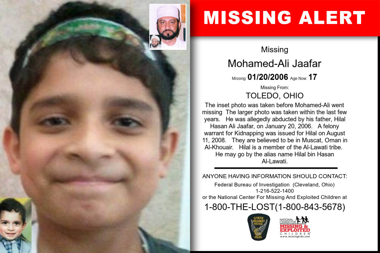 MOHAMED-ALI_JAAFAR missing in Ohio