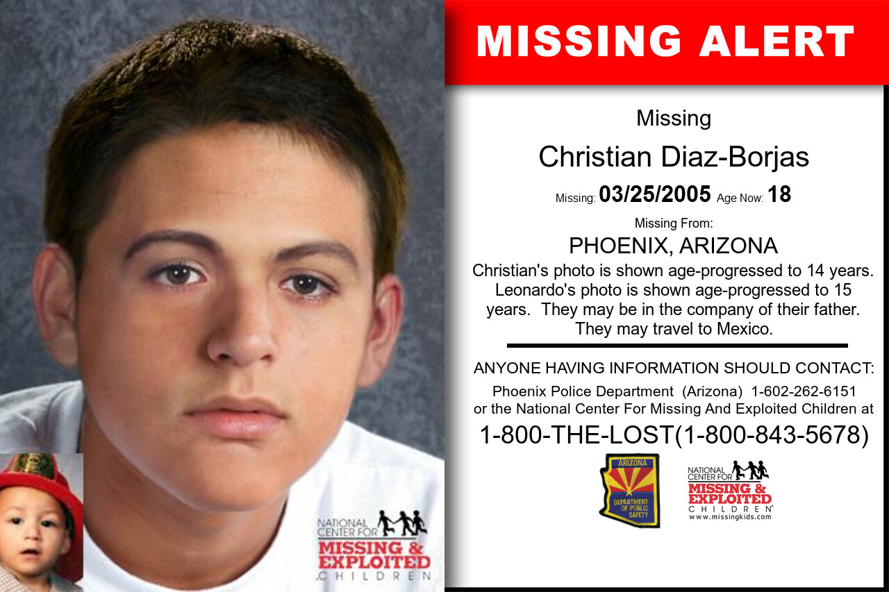 Christian_Diaz-Borjas missing in Arizona