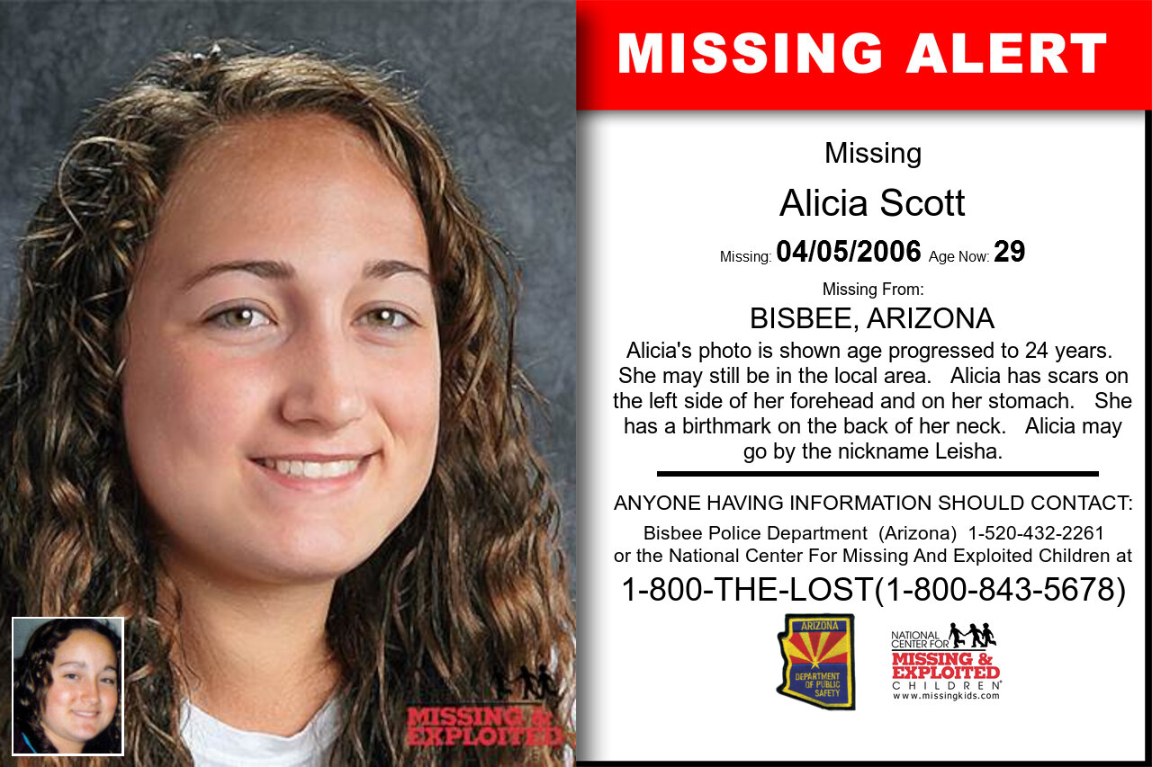 ALICIA_SCOTT missing in Arizona