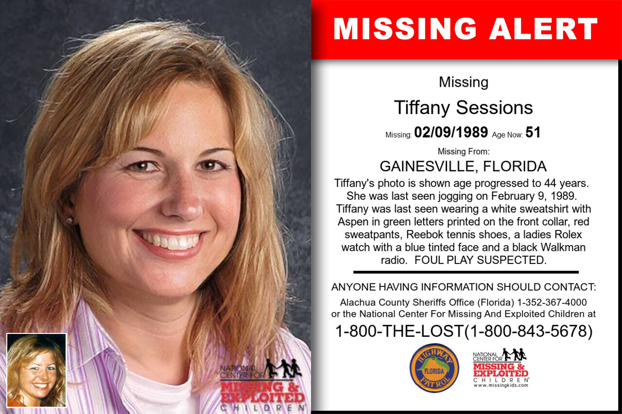 TIFFANY_SESSIONS missing in Florida
