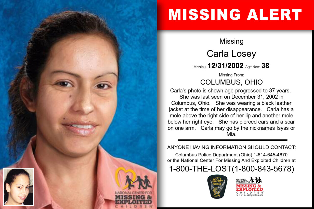 Carla_Losey missing in Ohio