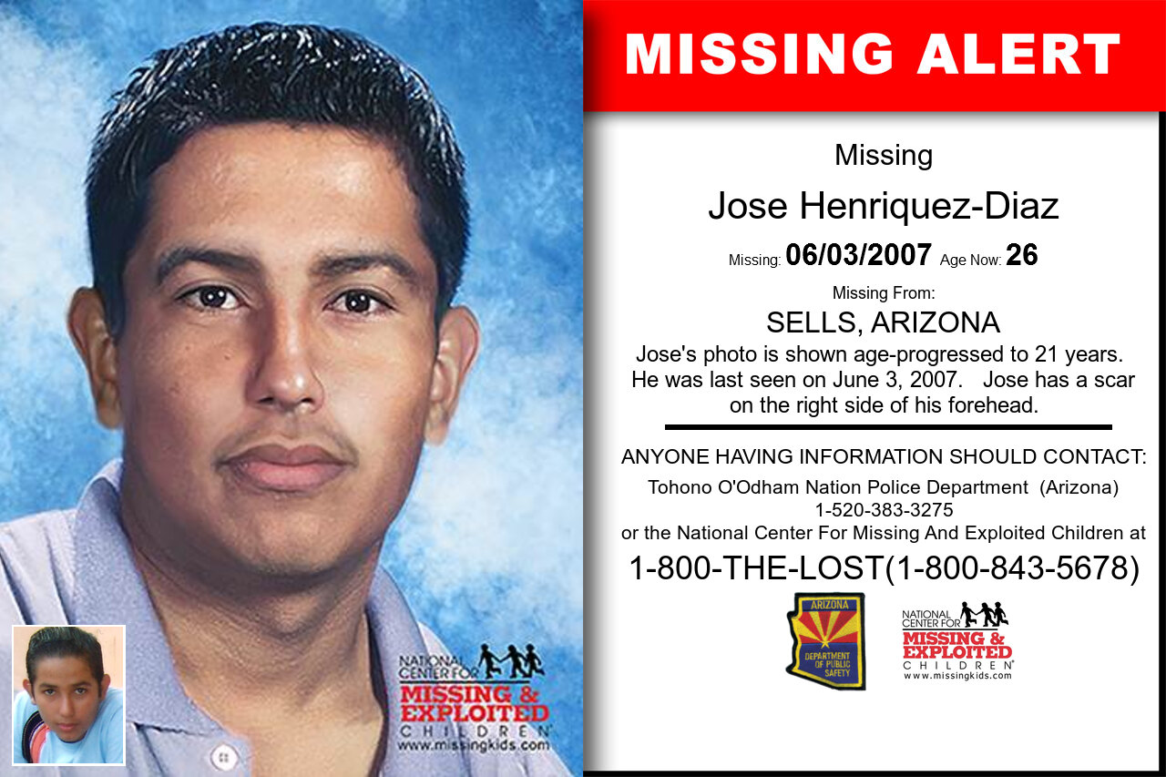 JOSE_HENRIQUEZ-DIAZ missing in Arizona