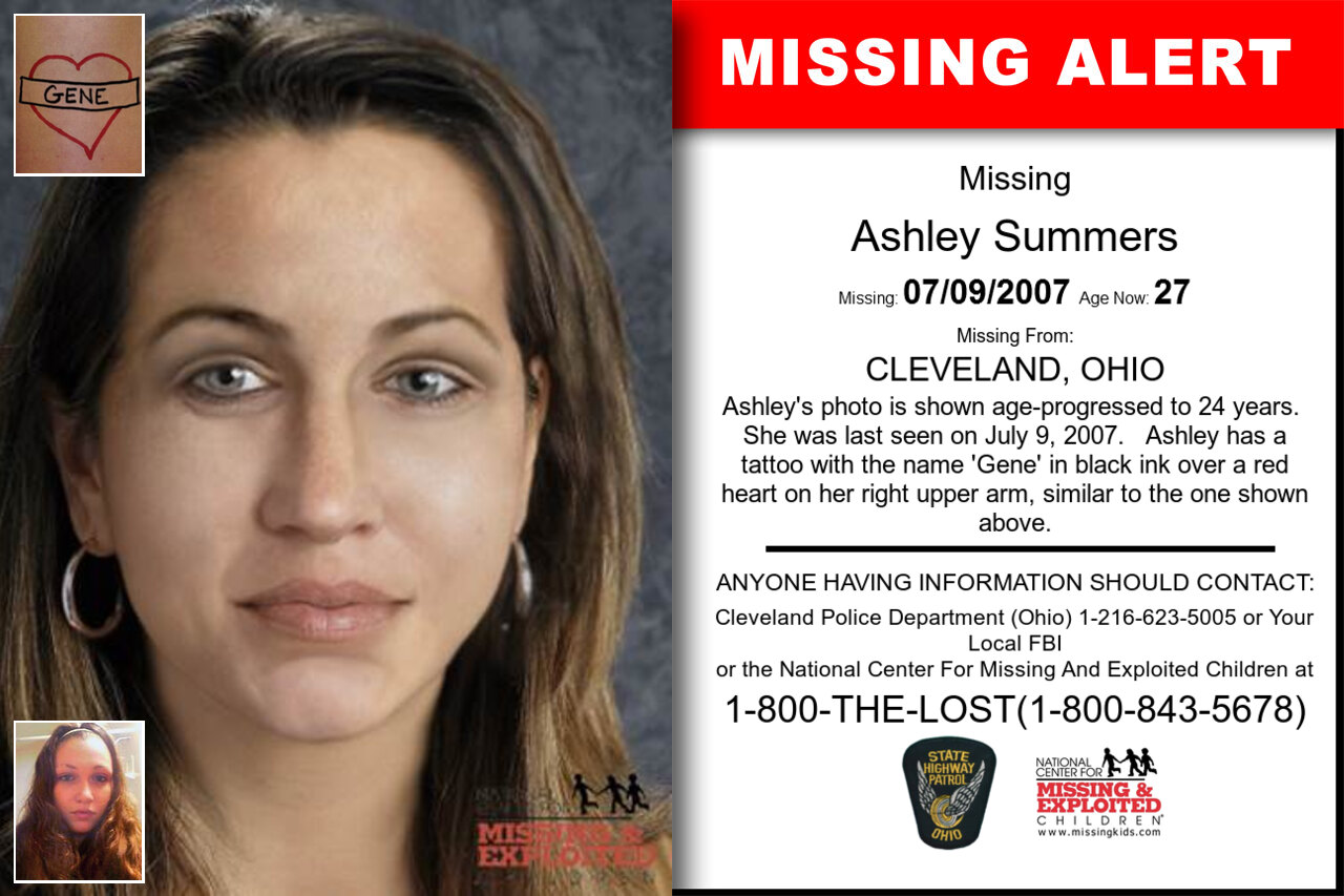 ASHLEY_SUMMERS missing in Ohio