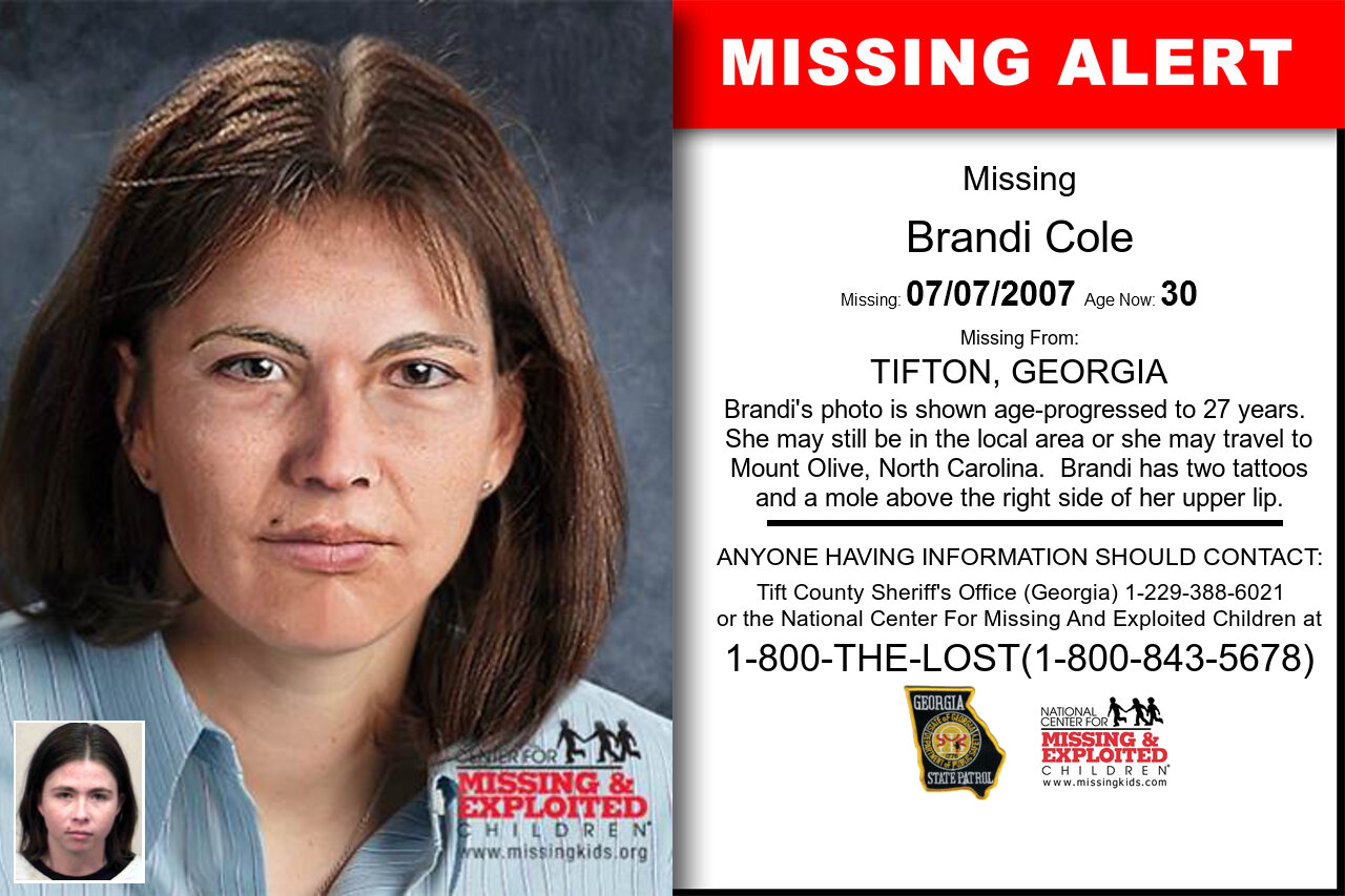 BRANDI_COLE missing in Georgia
