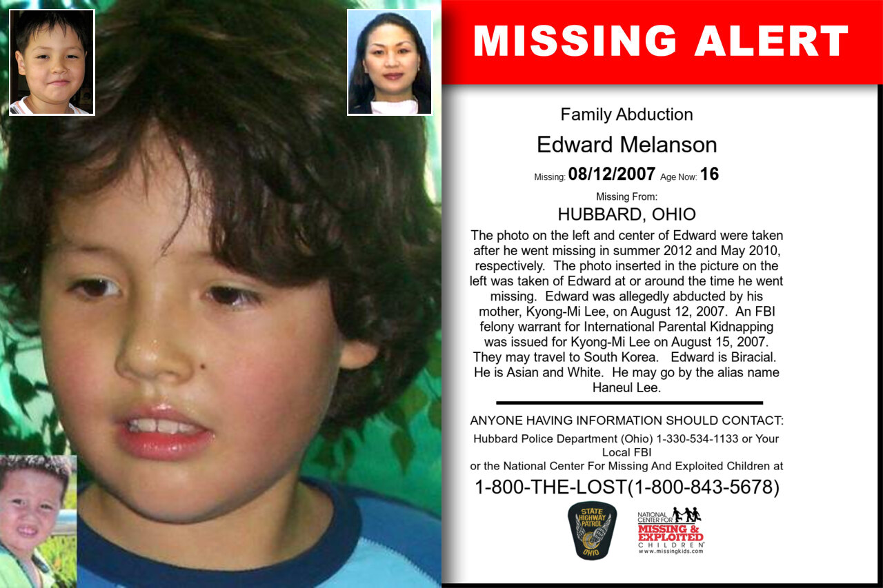 EDWARD_MELANSON missing in Ohio