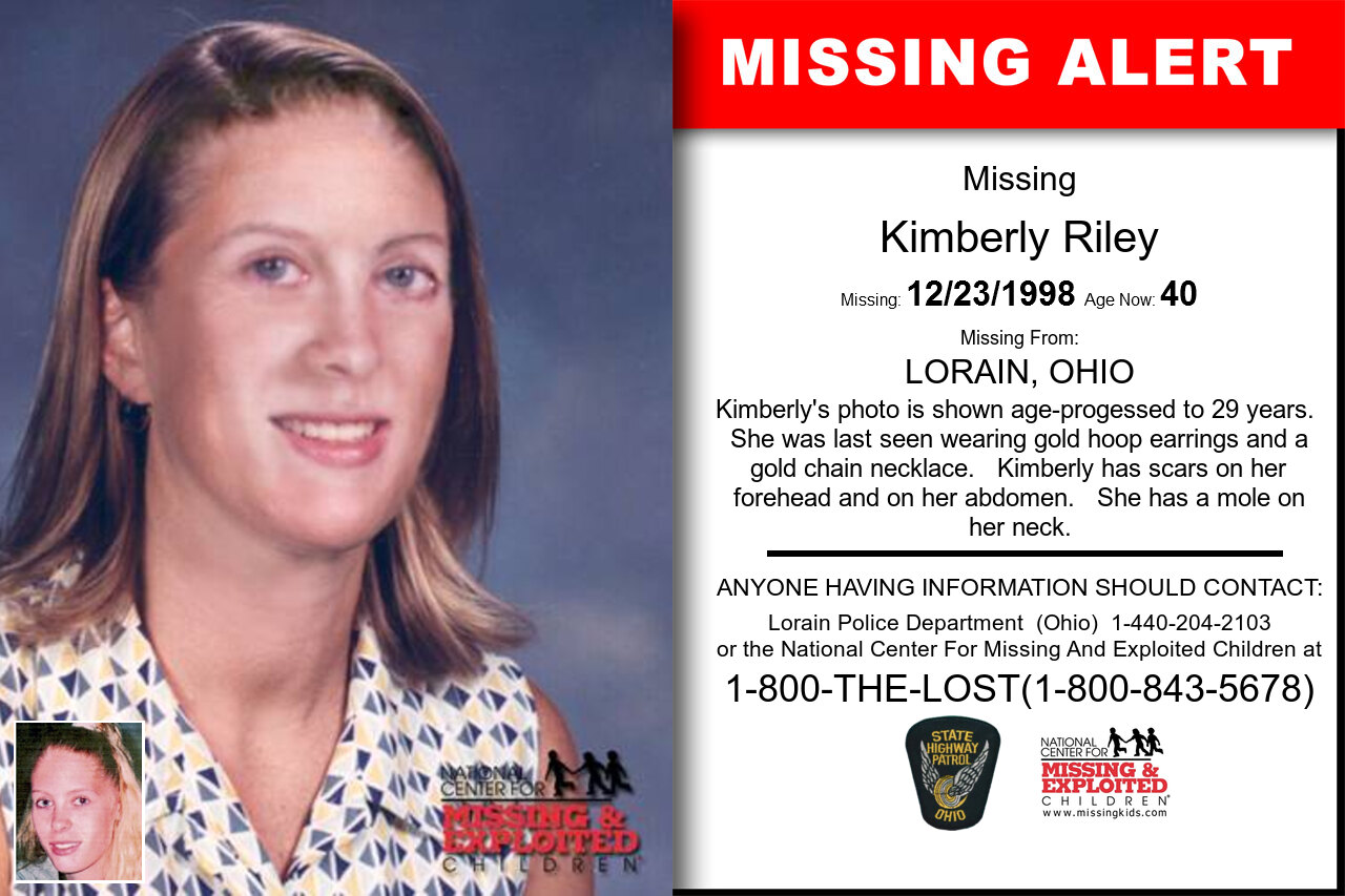 Kimberly_Riley missing in Ohio
