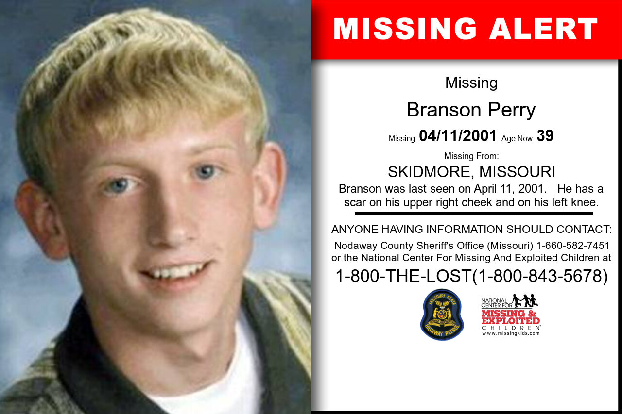 Branson_Perry missing in Missouri