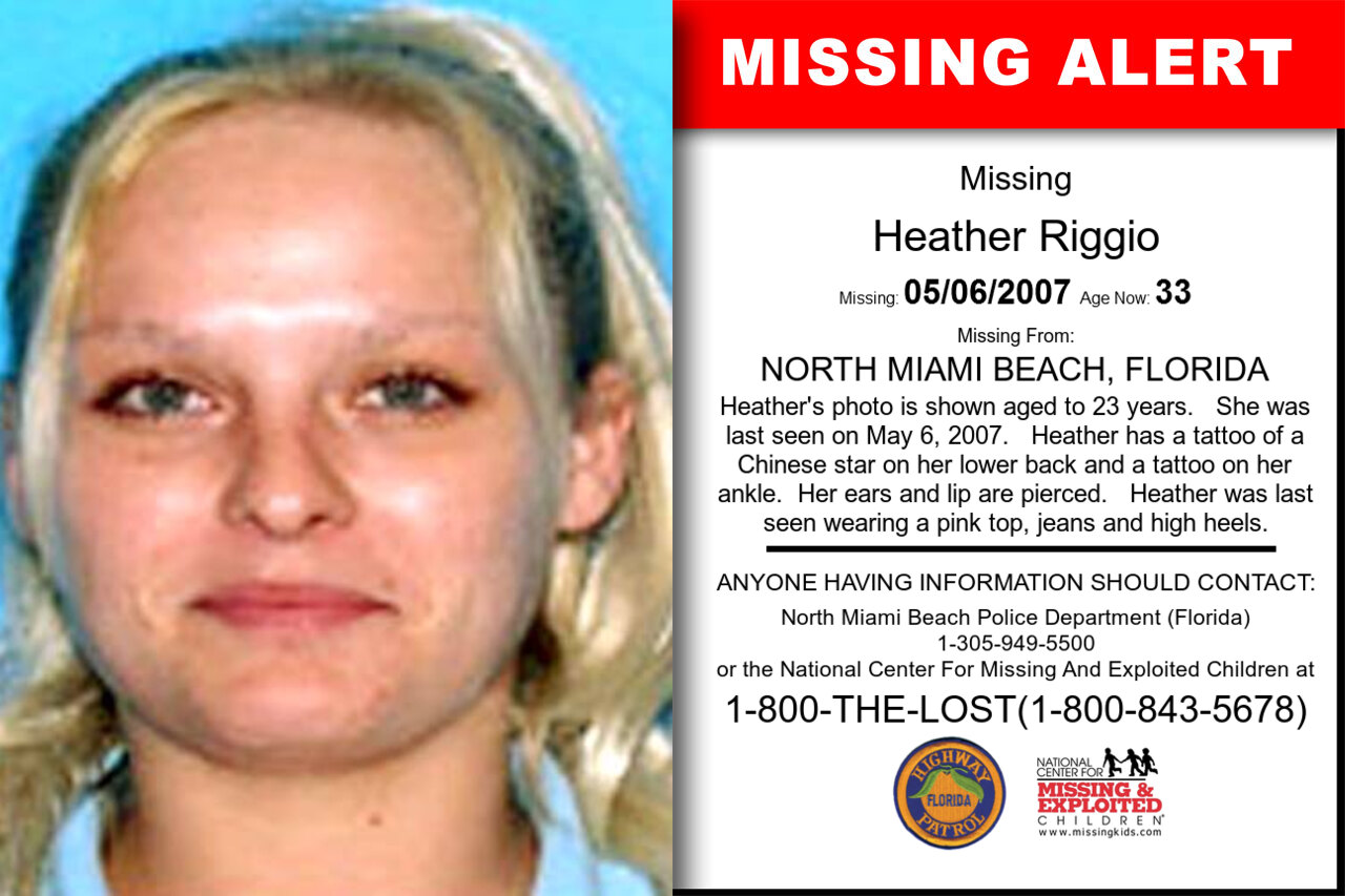 Heather_Riggio missing in Florida