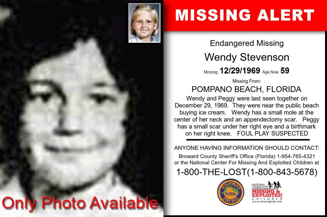 WENDY_STEVENSON missing in Florida