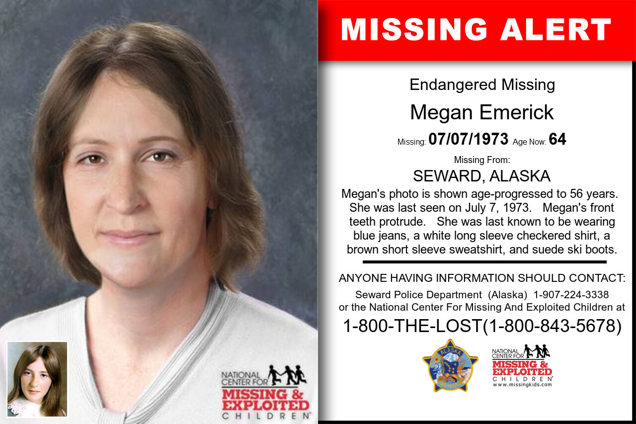 MEGAN_EMERICK missing in Alaska