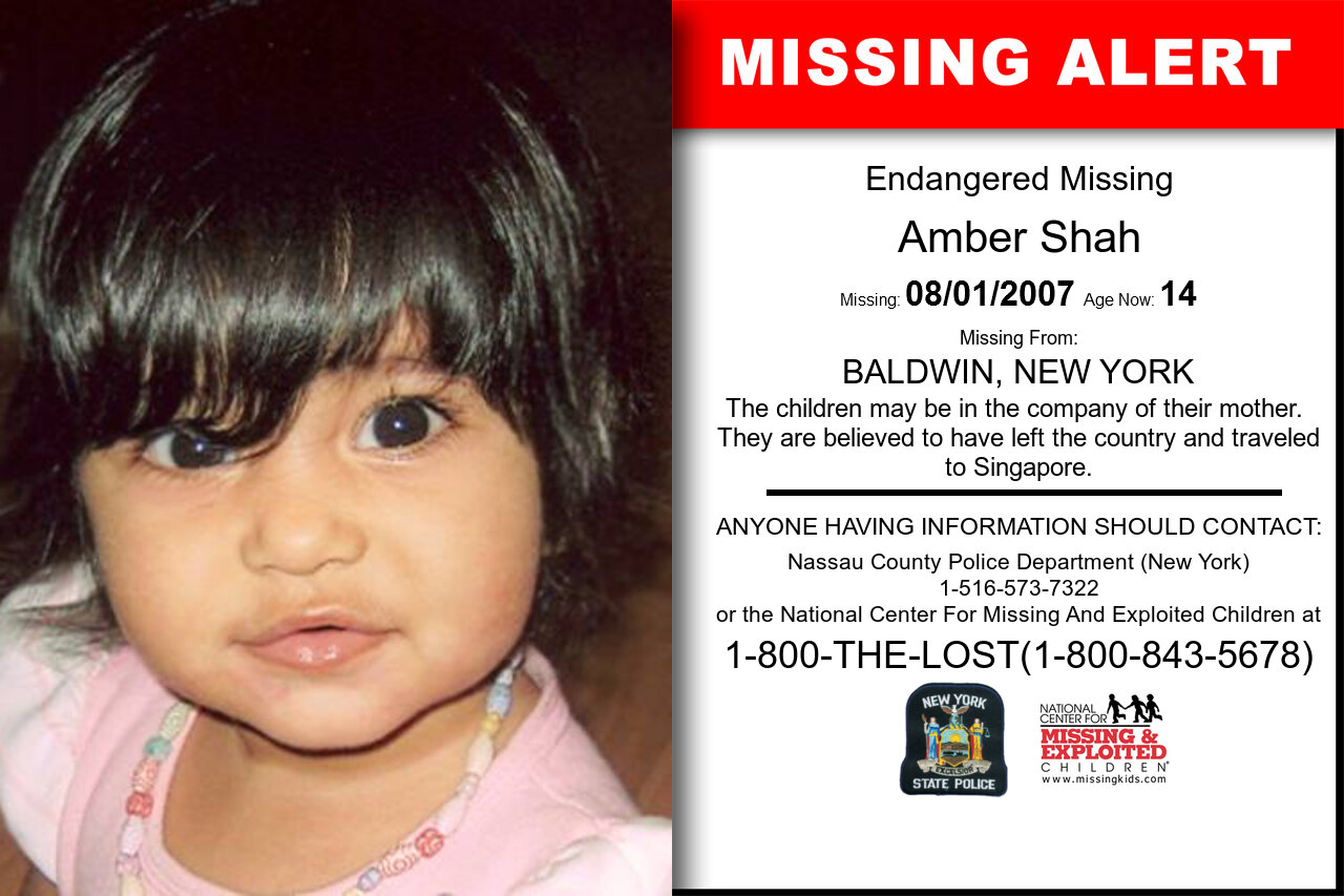 AMBER_SHAH missing in New_York