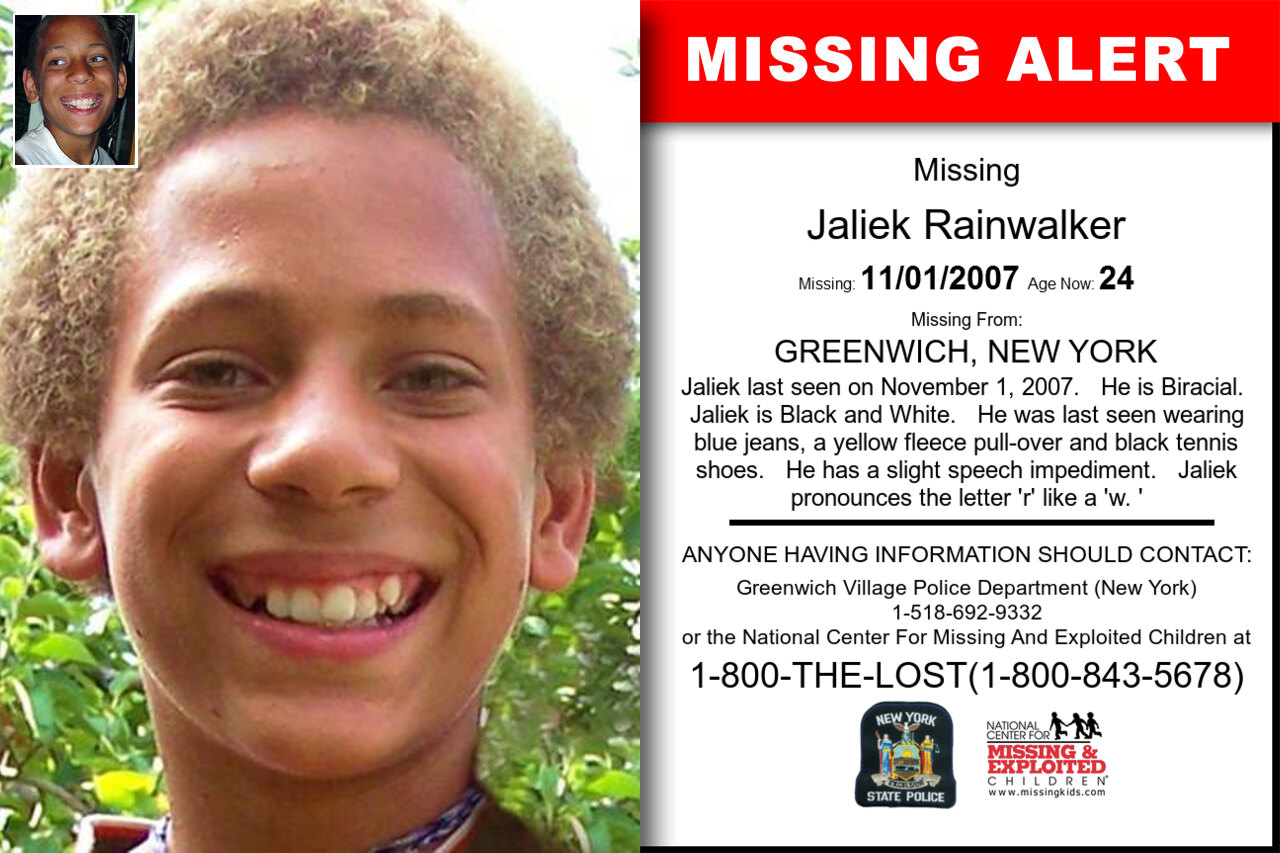 JALIEK_RAINWALKER missing in New_York