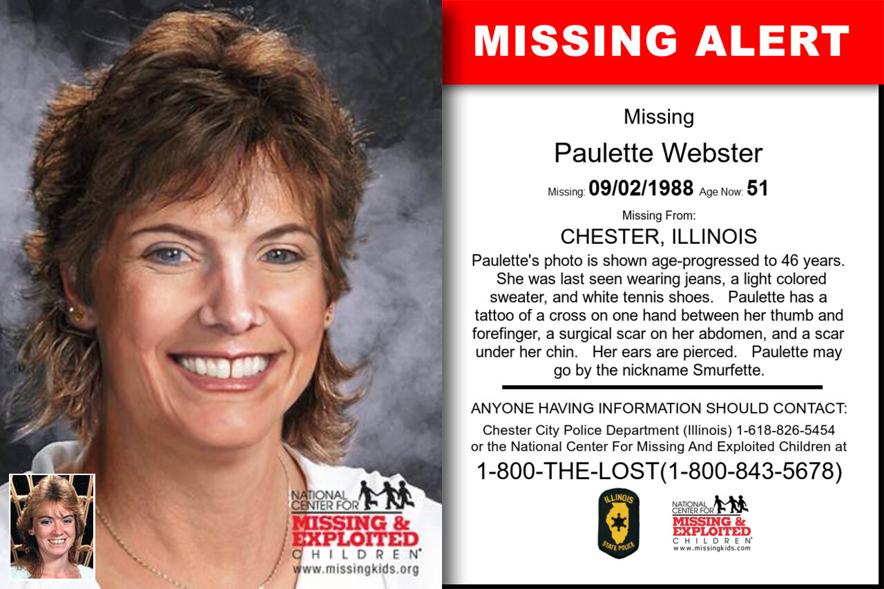 Paulette_Webster missing in Illinois