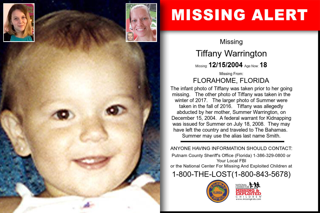 Tiffany_Warrington missing in Florida