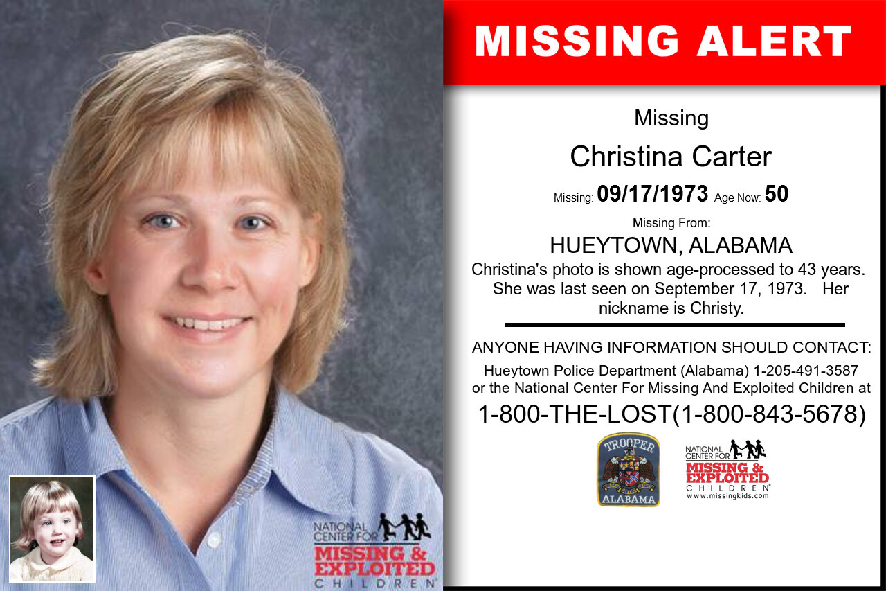 CHRISTINA_CARTER missing in Alabama