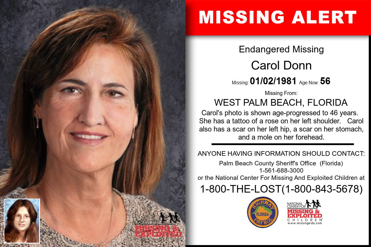 Carol_Donn missing in Florida