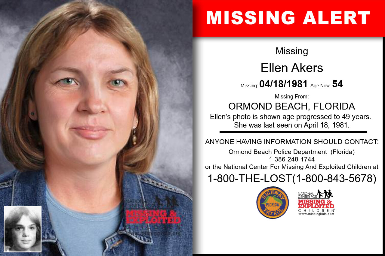 ELLEN_AKERS missing in Florida