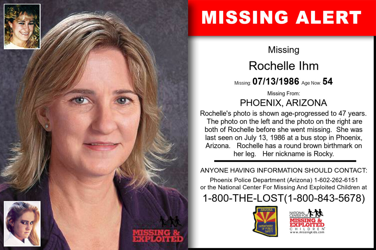 ROCHELLE_IHM missing in Arizona