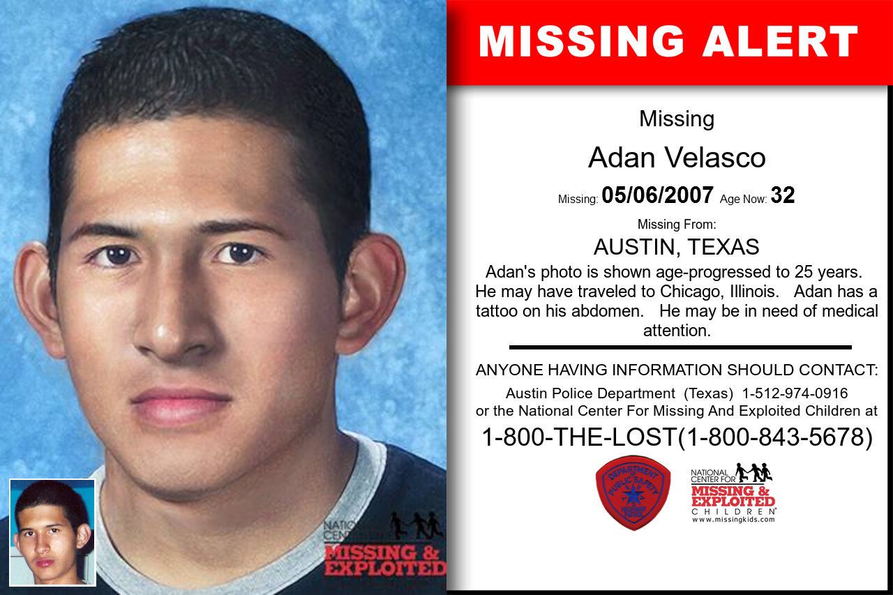 ADAN_VELASCO missing in Texas