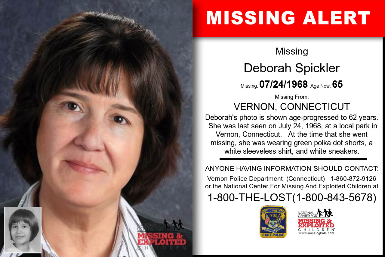 DEBORAH_SPICKLER missing in Connecticut