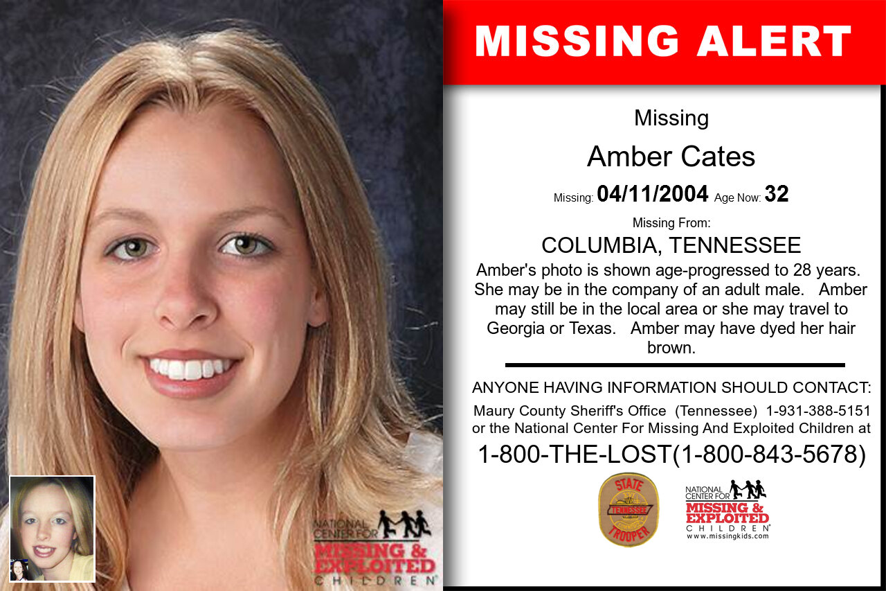 AMBER_CATES missing in Tennessee