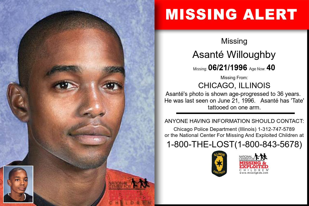 ASANTÉ_WILLOUGHBY missing in Illinois
