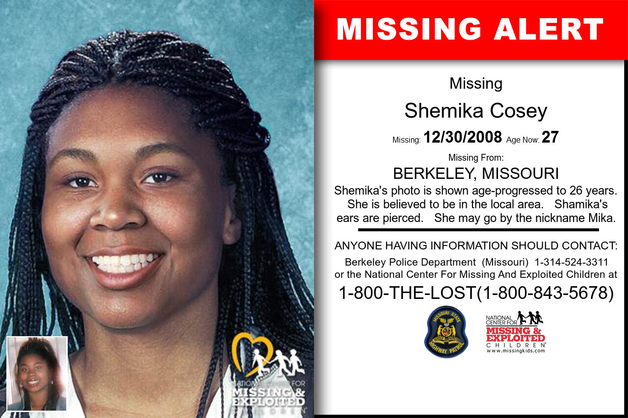 SHEMIKA_COSEY missing in Missouri