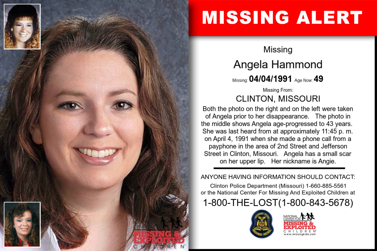 ANGELA_HAMMOND missing in Missouri