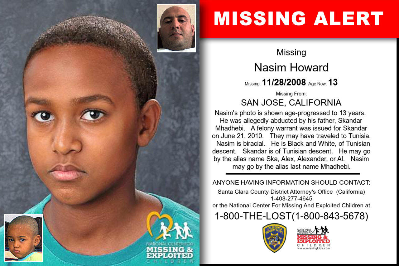 Nasim_Howard missing in California