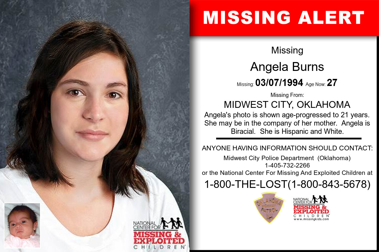 ANGELA_BURNS missing in Oklahoma
