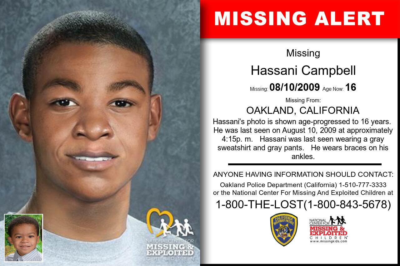 Hassani_Campbell missing in California