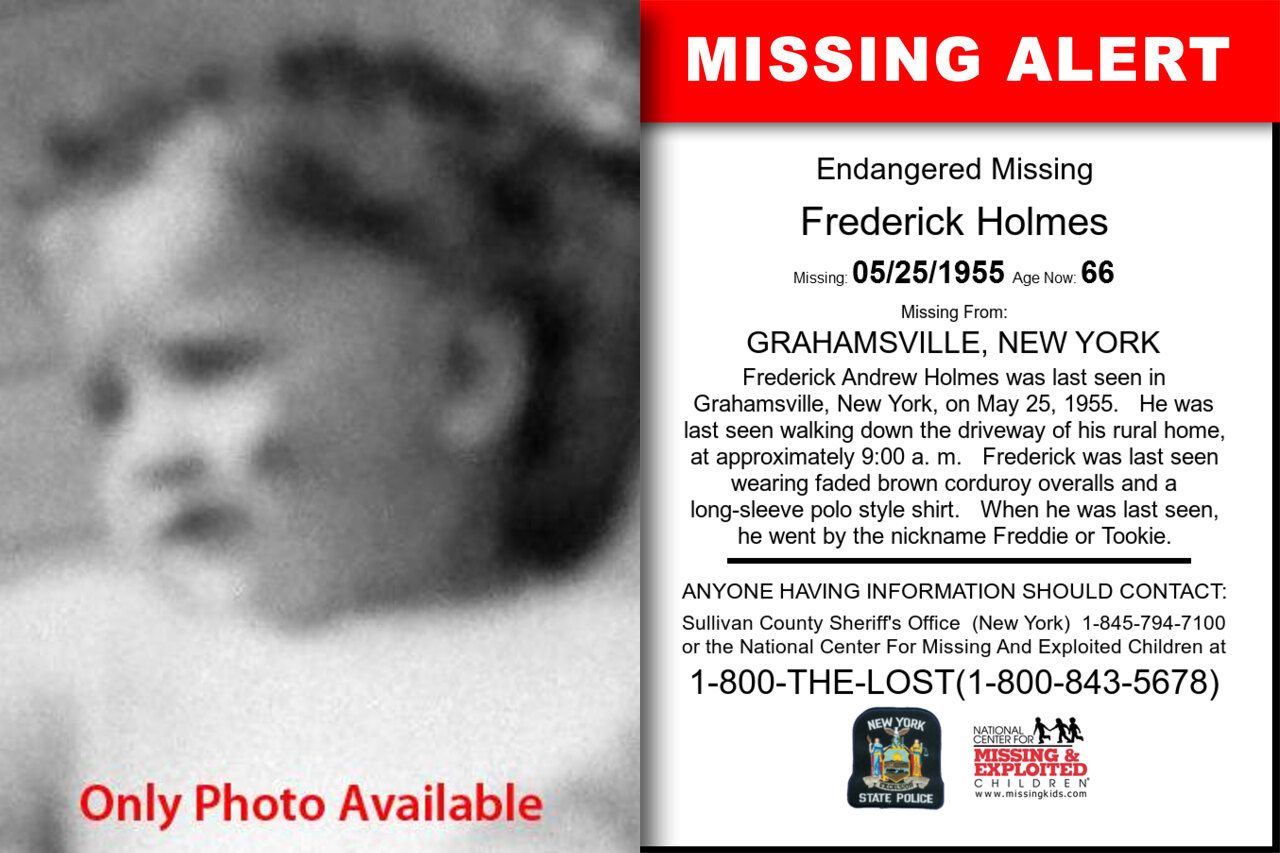 Frederick_Holmes missing in New_York