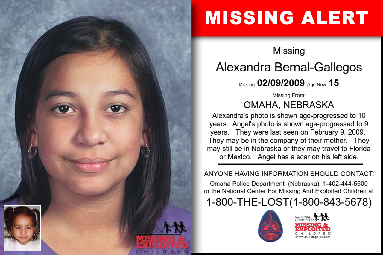 ALEXANDRA_BERNAL-GALLEGOS missing in Nebraska