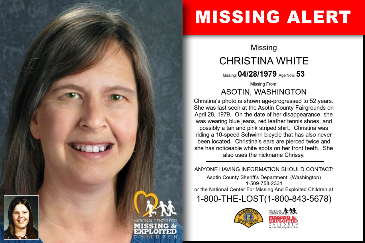 Christina_White missing in Washington