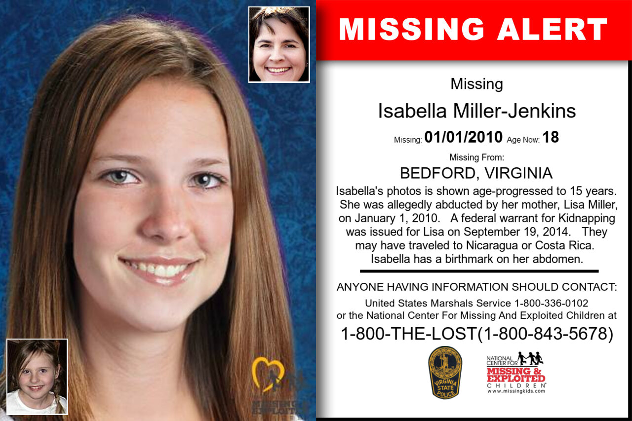ISABELLA_MILLER-JENKINS missing in Virginia