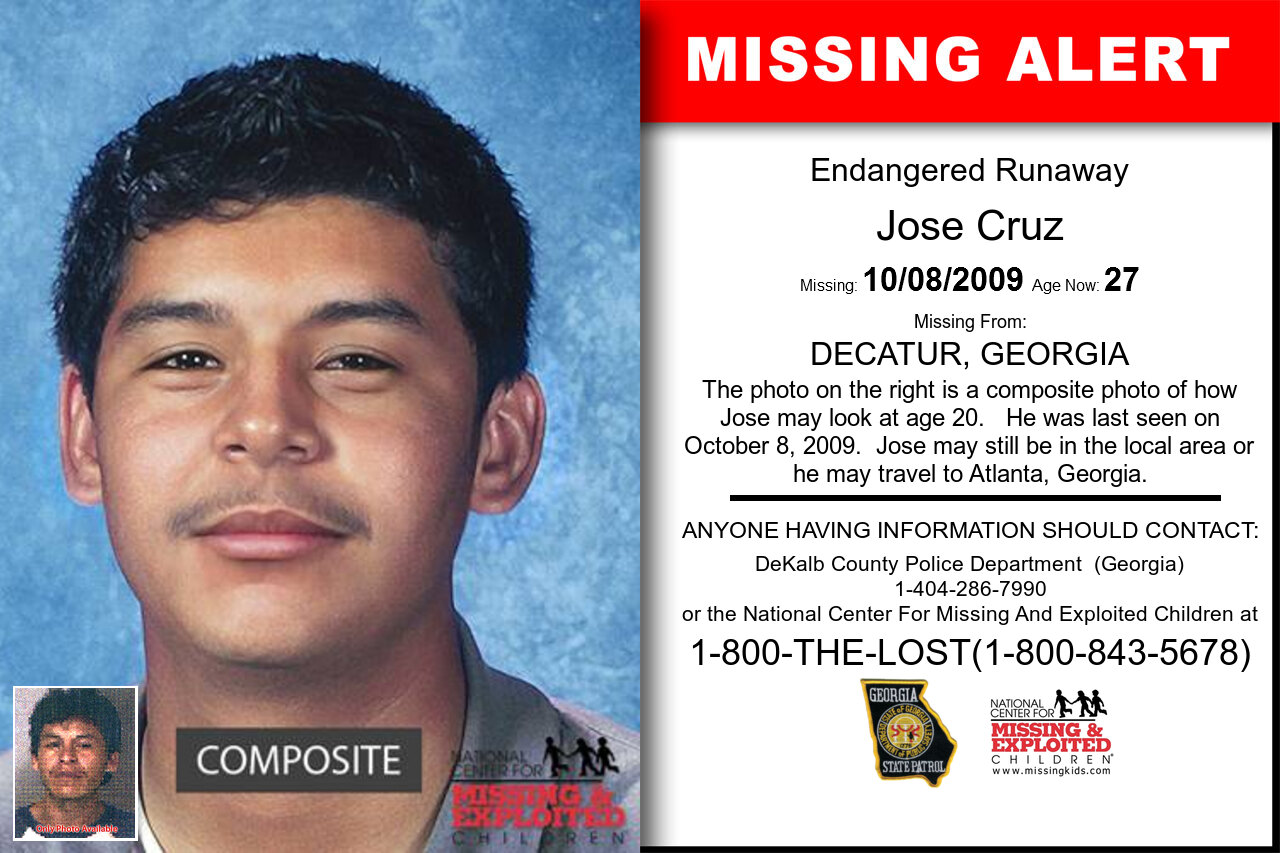 JOSE_CRUZ missing in Georgia