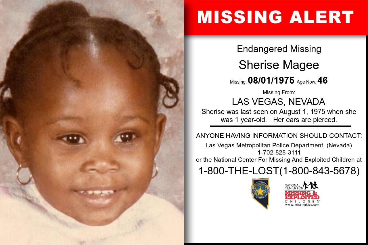 SHERISE_MAGEE missing in Nevada