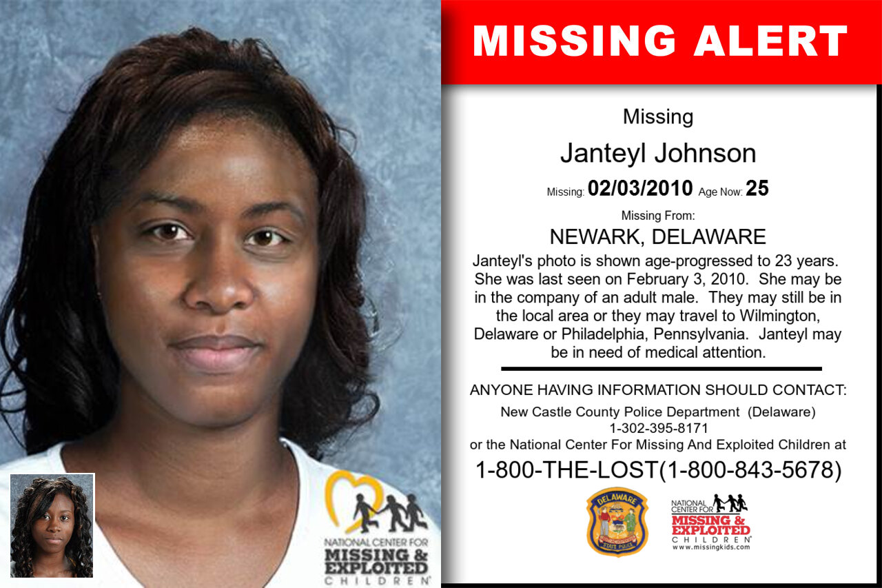 JANTEYL_JOHNSON missing in Delaware