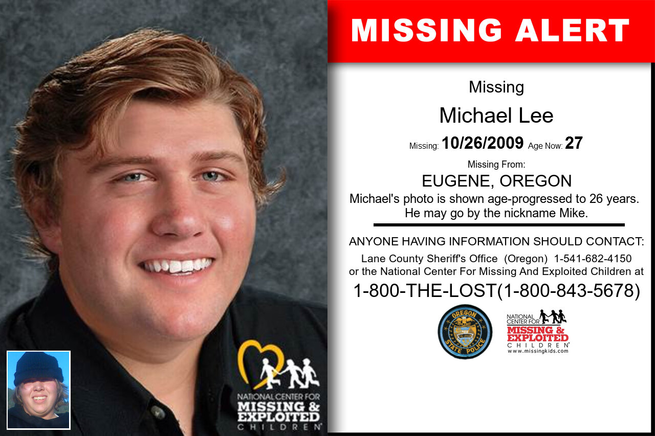 MICHAEL_LEE missing in Oregon