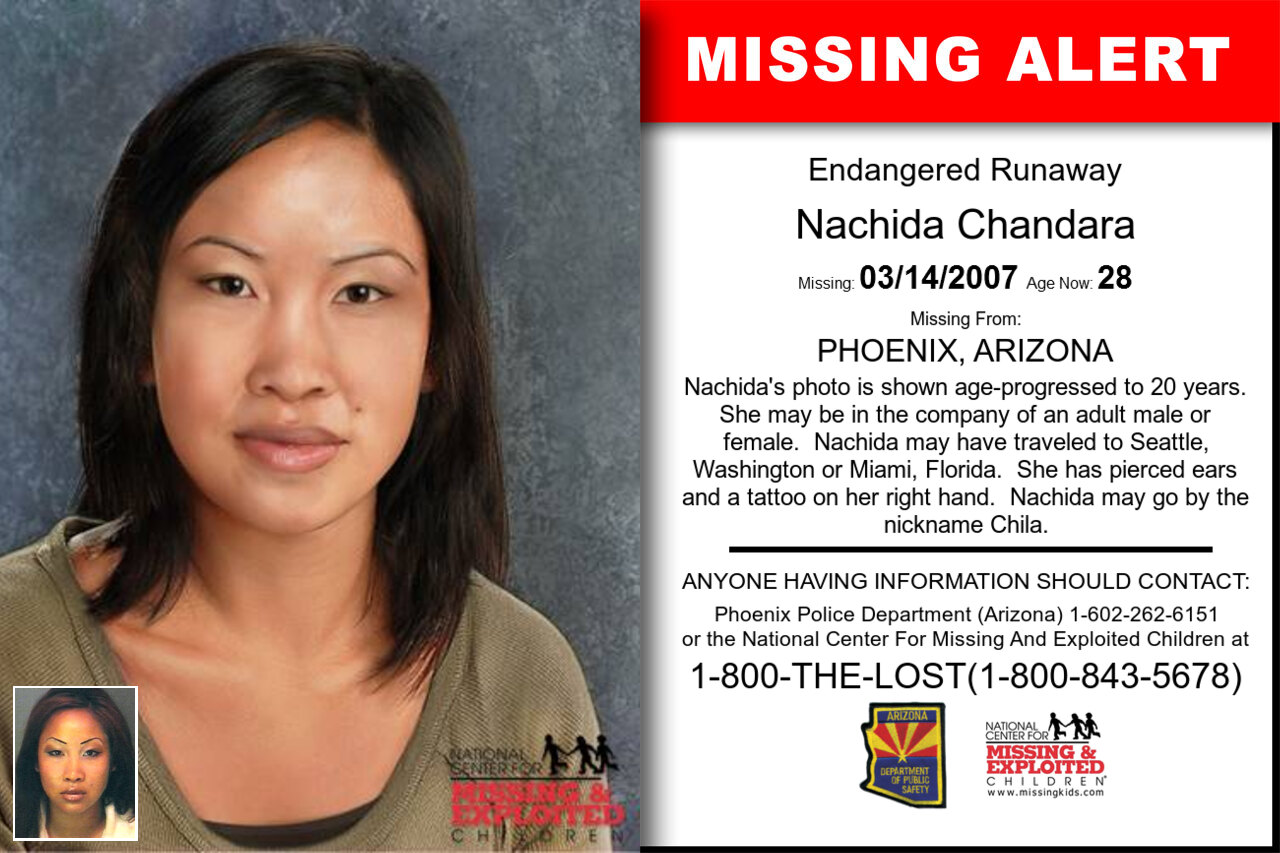 Nachida_Chandara missing in Arizona