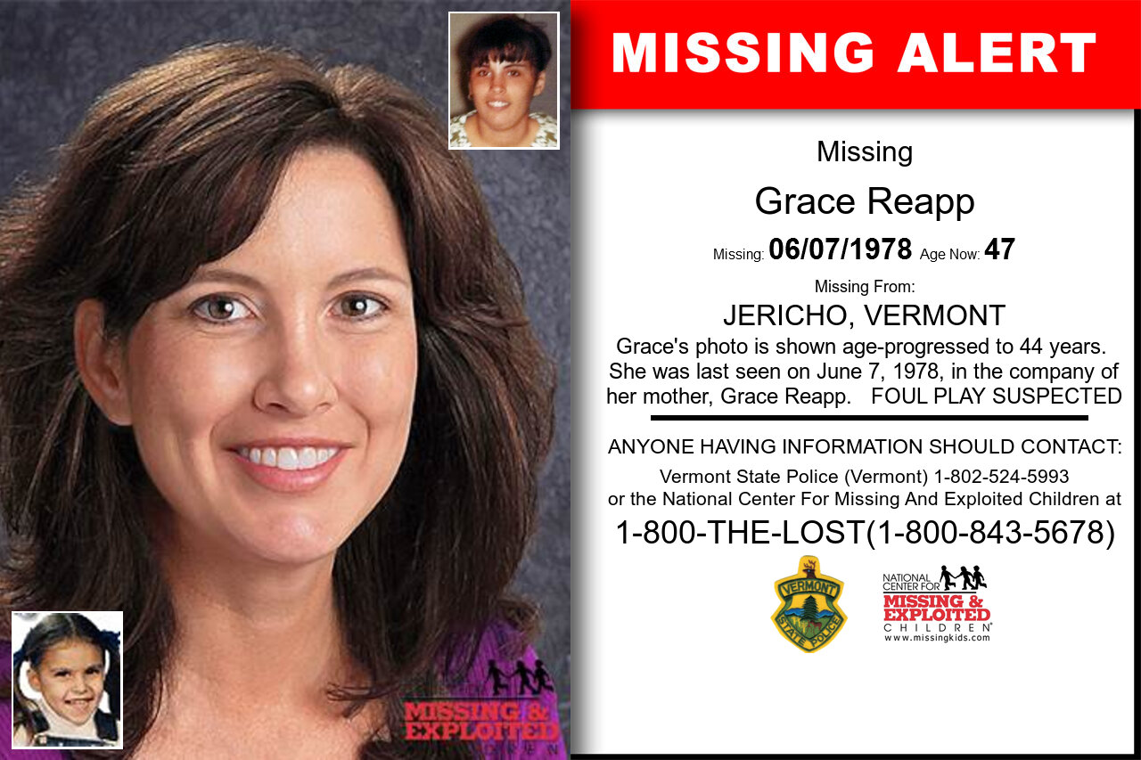 Grace_Reapp missing in Vermont